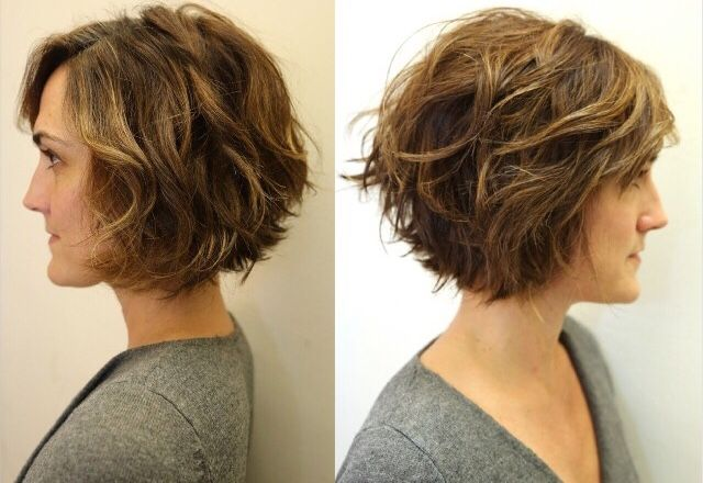 26+ Short hairstyles for thick wavy hair inspirations