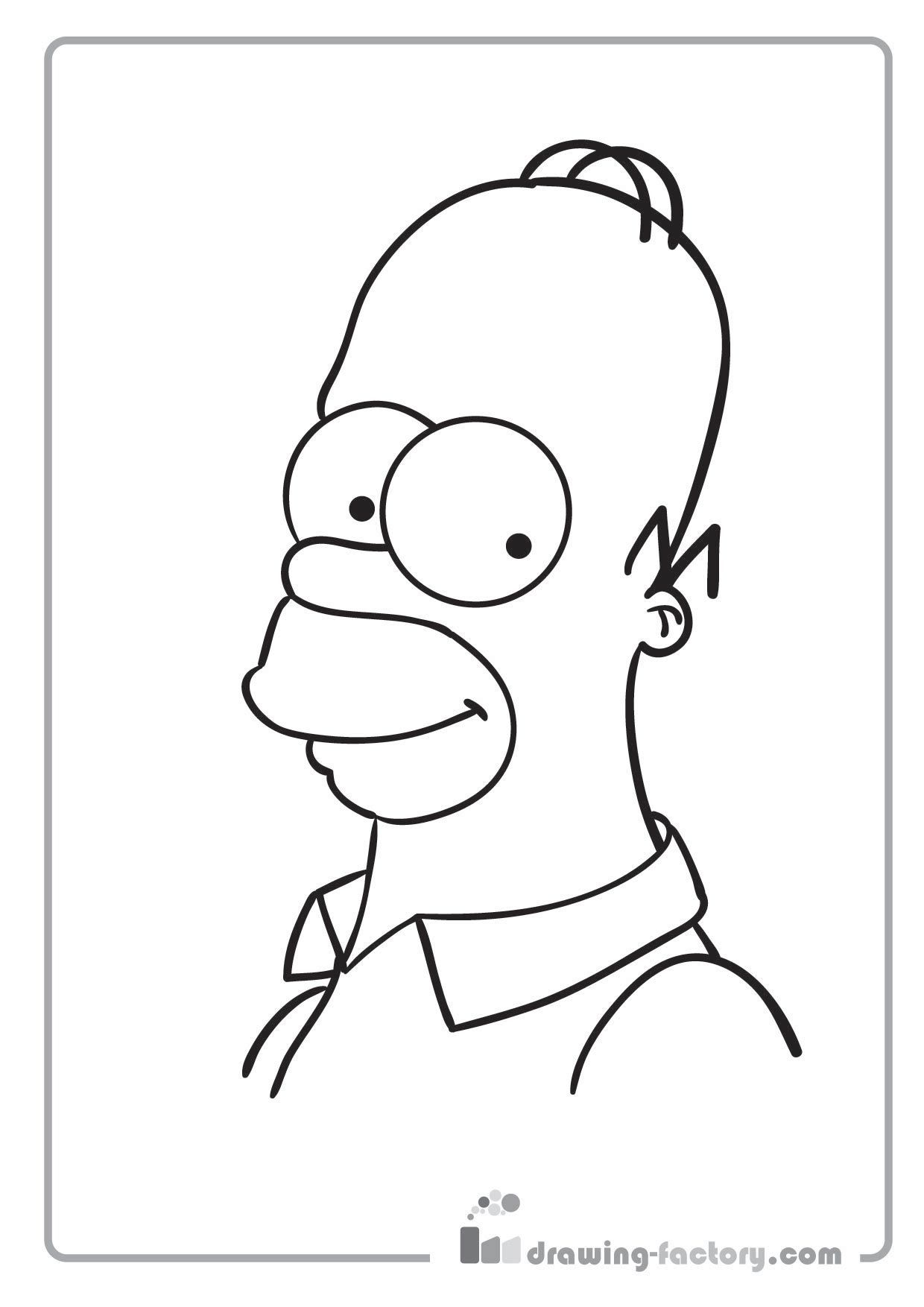 cartoon coloring pages-vBXA | the simpsons | Pinterest
