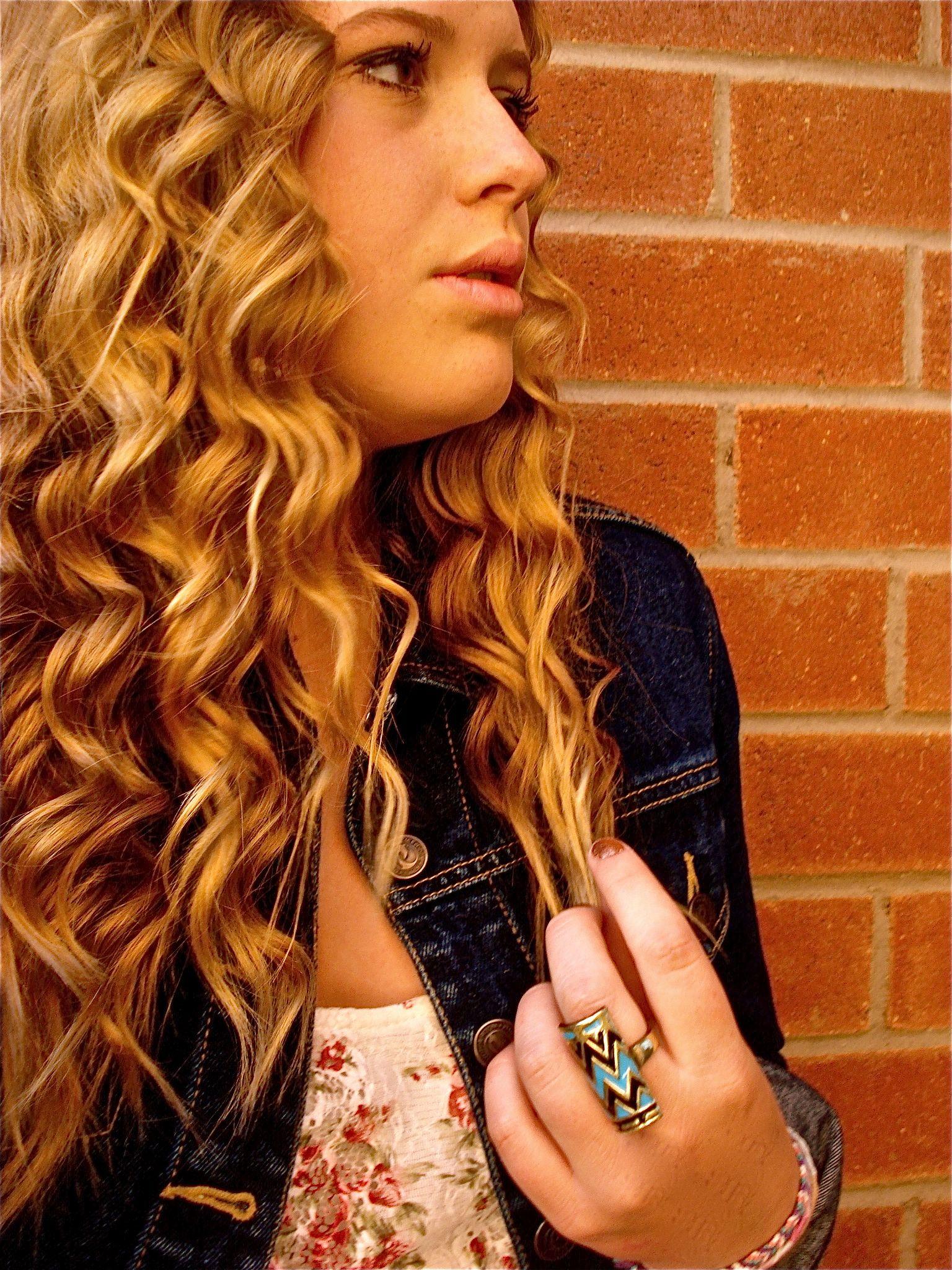 confused, hair, blonde, jean jacket, love