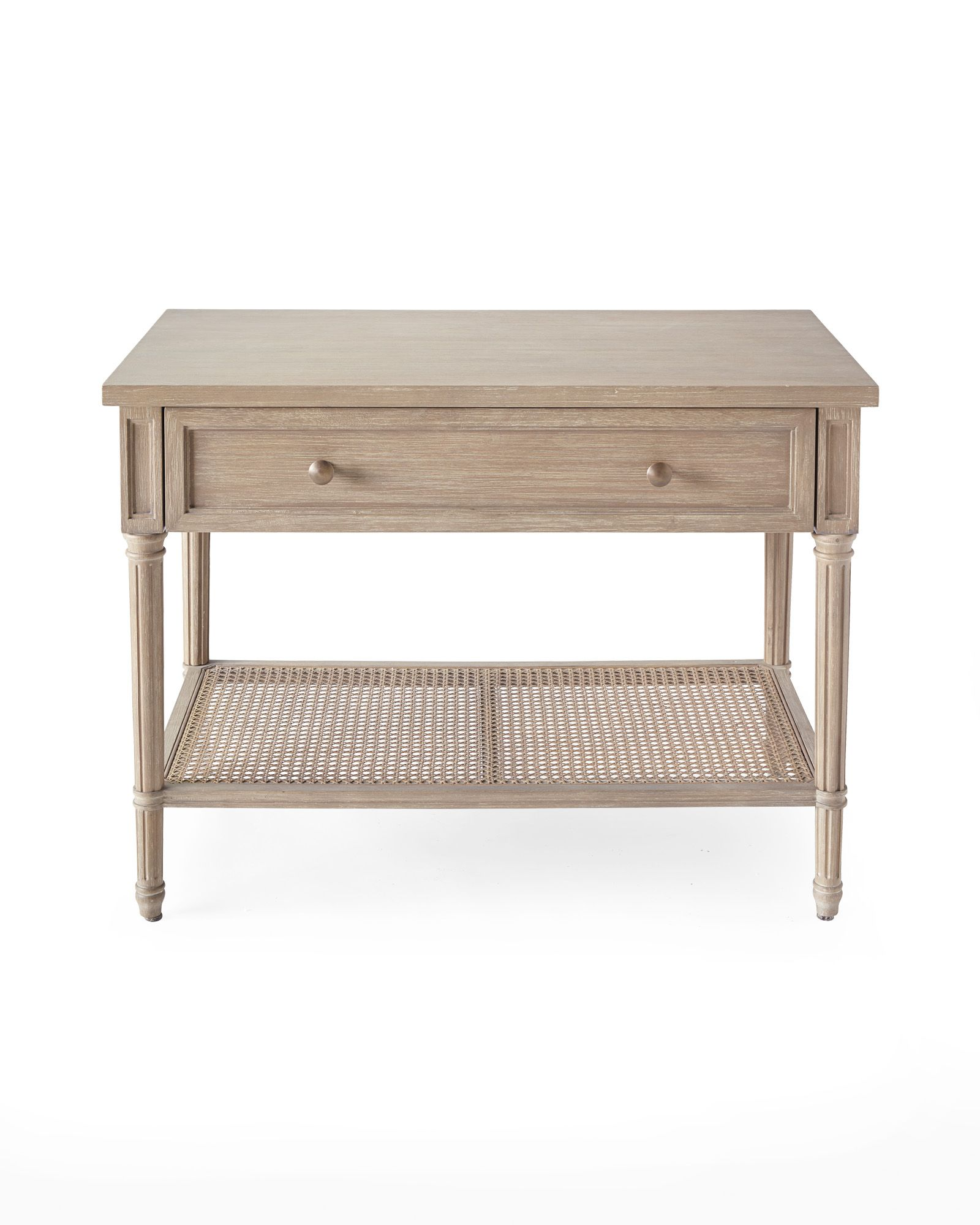 Harbour Cane Nightstand Somerville Houseaccent Tablesconsole
