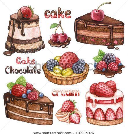 Colección de pasteles