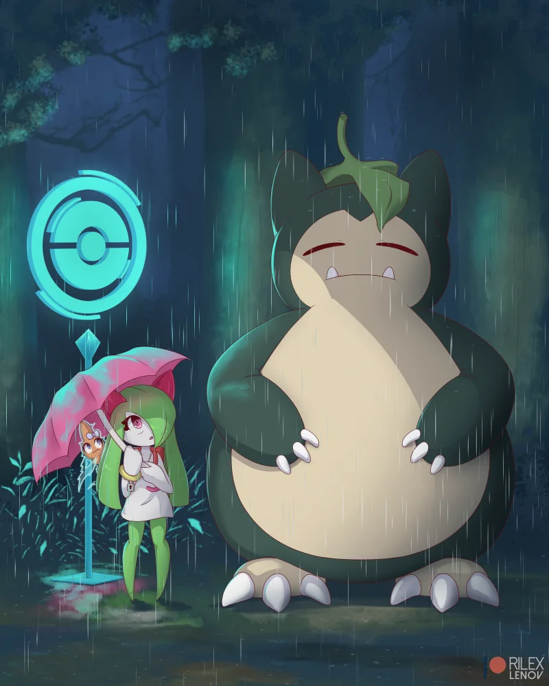 Kirlia Can Rip Holes In Spacetime And Also Loves To Dance Pokemon Eevee Pokemon Snorlax Snorlax Art