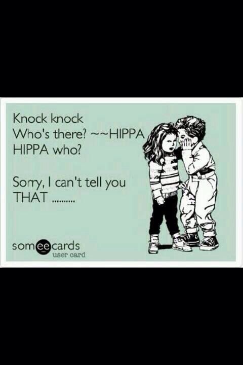 Hippa Who Physical Therapy Humor Therapy Humor Physical