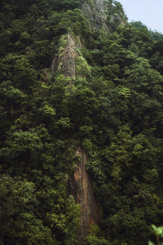 Super precipitous stairs on the hillside by Hanson Mao(毛延延) on 500px  )