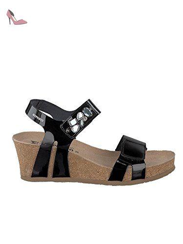 Mephisto Sandales 36 pour Chaussures noir noir femme EU FFrTdw
