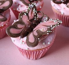 Peanut Butter Butterfly Cuppie Cakes