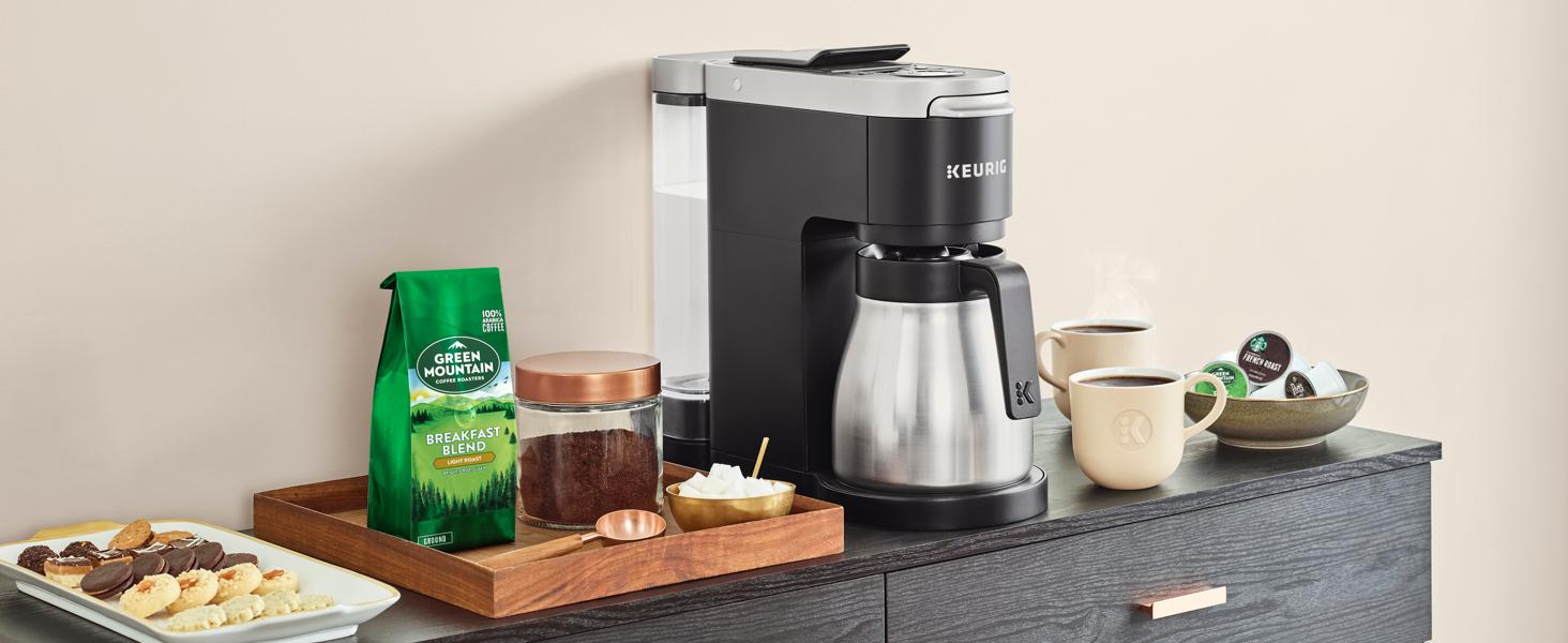 Keurig® KDuo Plus™ Coffee Maker with Single Serve KCup