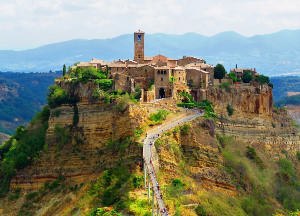 Day Trip From Rome To Orvieto Civita Di Bagnoregio With Images