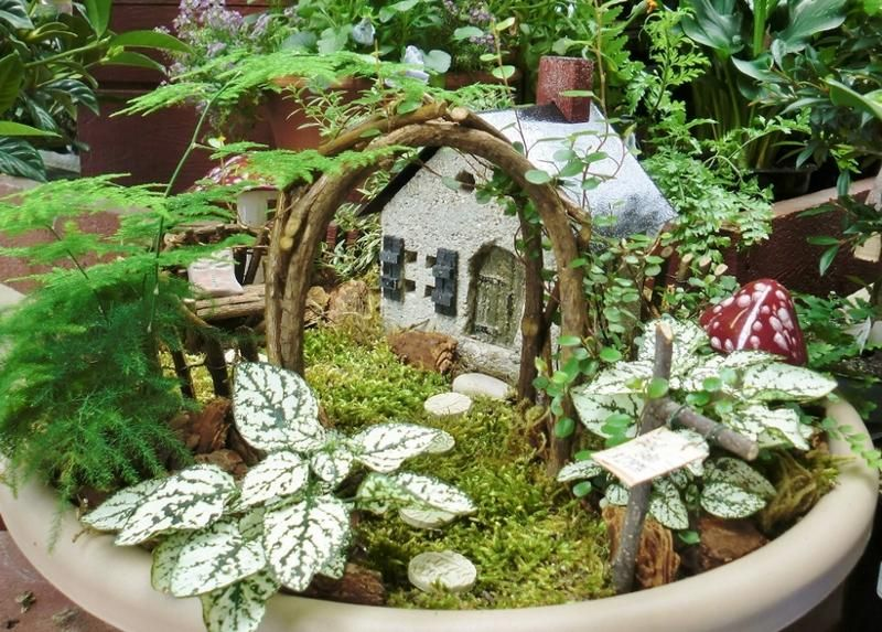 12 Marvelous Miniature Garden Decorating Ideas   All things small ...