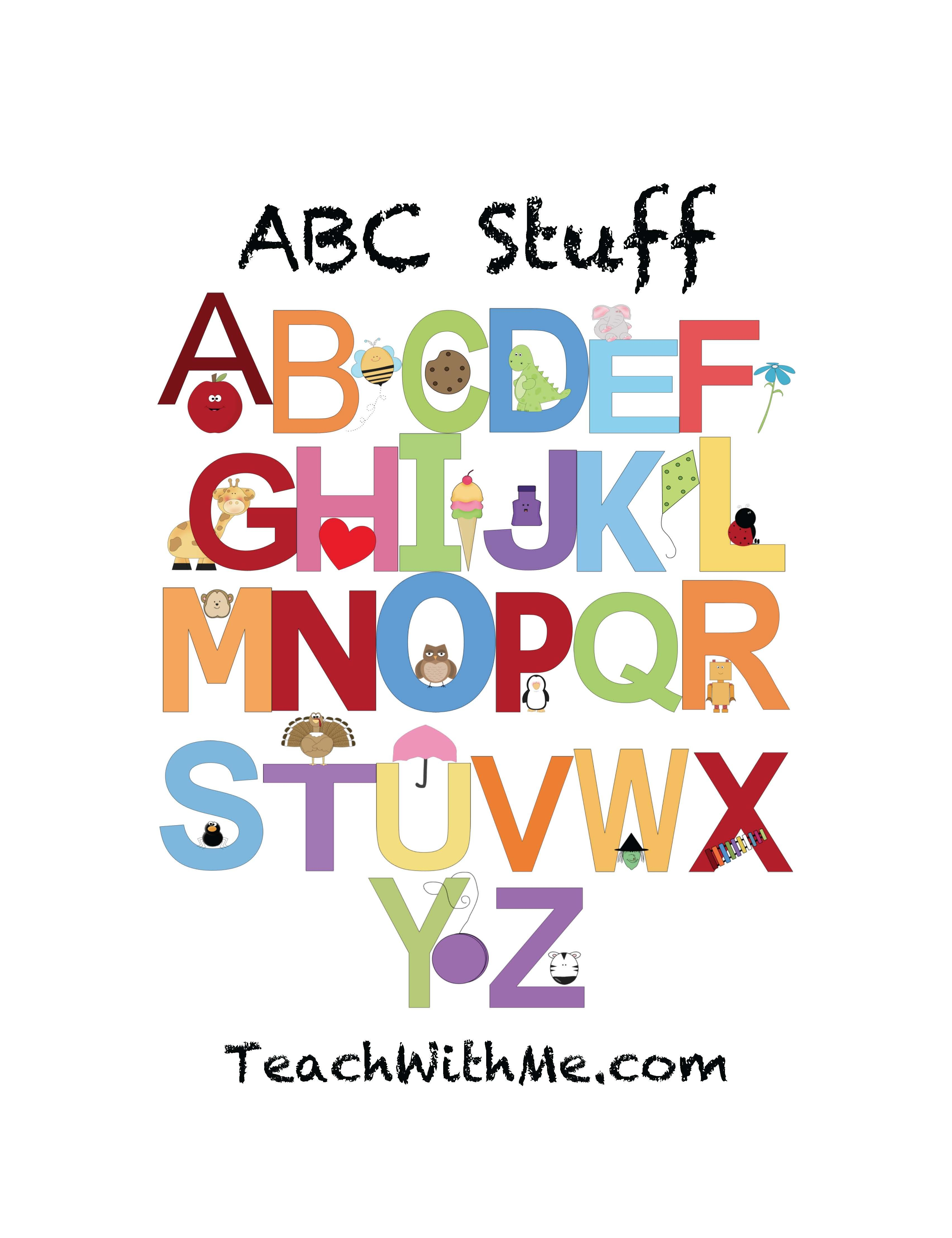 End Of The Year Activities Reviewing The Alphabet