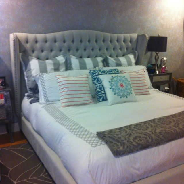 My Jameson Bed In Bella Gray From Zgallerie