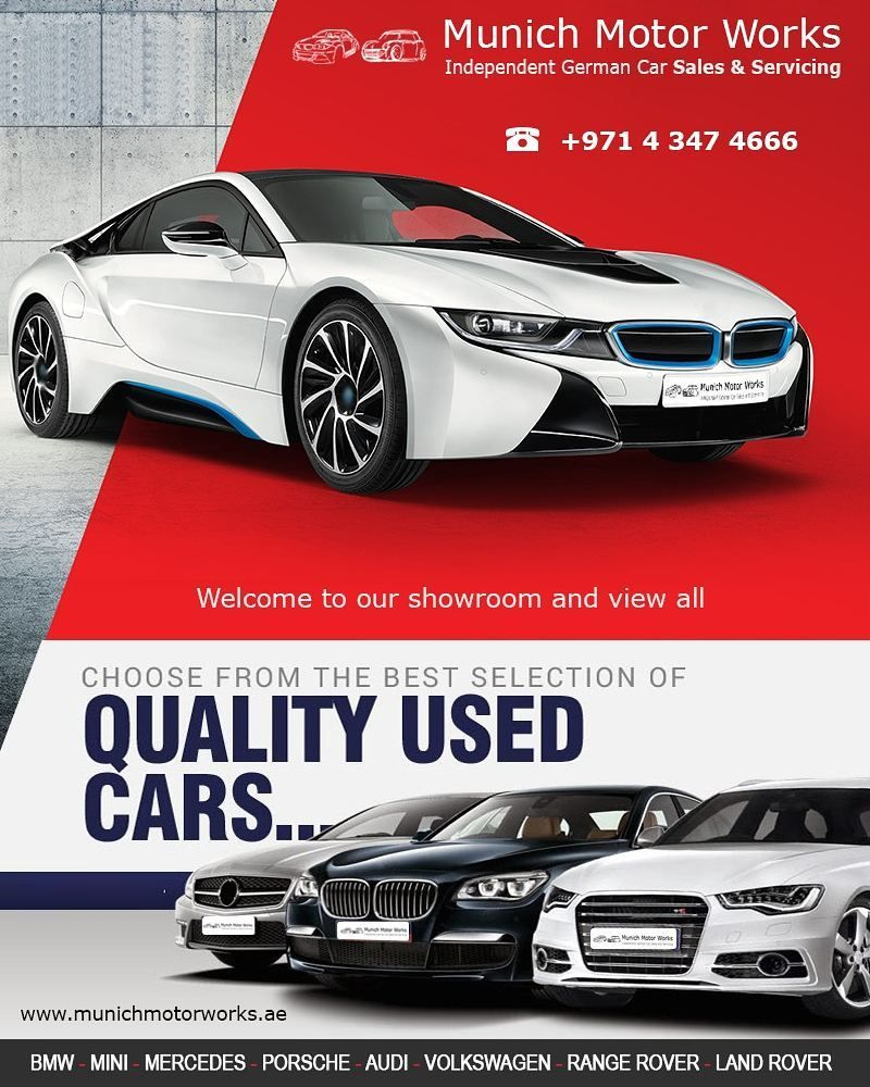 Get The Best Used Cars In Uae Fully Inspected Warrantied Now Munich Car Trading Provide You Used Cars At Reasonable Price Porsche Audi Motor Works