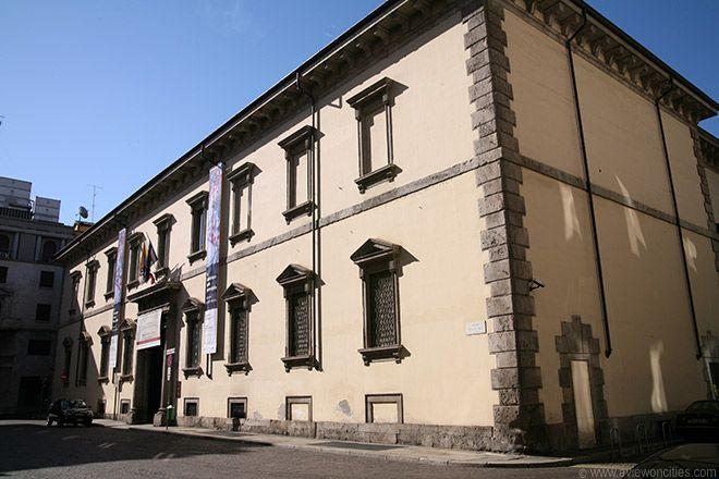 Milan Picture Pinacoteca Ambrosiana Citta