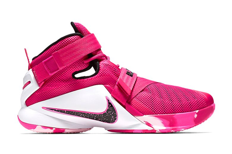 Nike LeBron Soldier 9 Think Pink