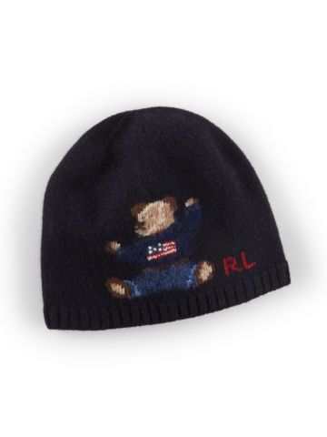 09add725748 Knit Bear Merino Wool Hat - Boys 2-7 Hats