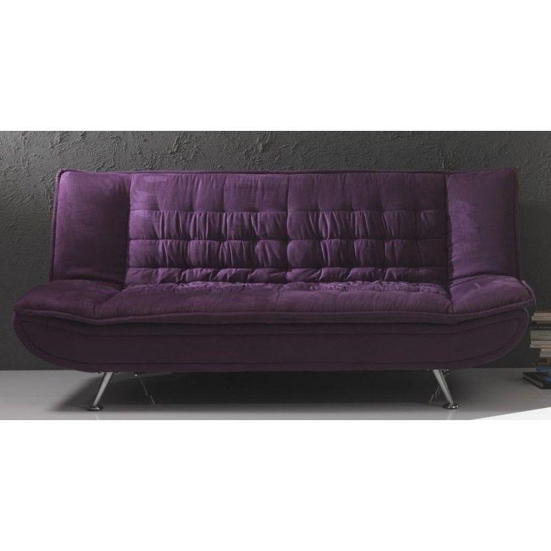 Il divano letto Lola di Tomasucci, dal design vintage, è