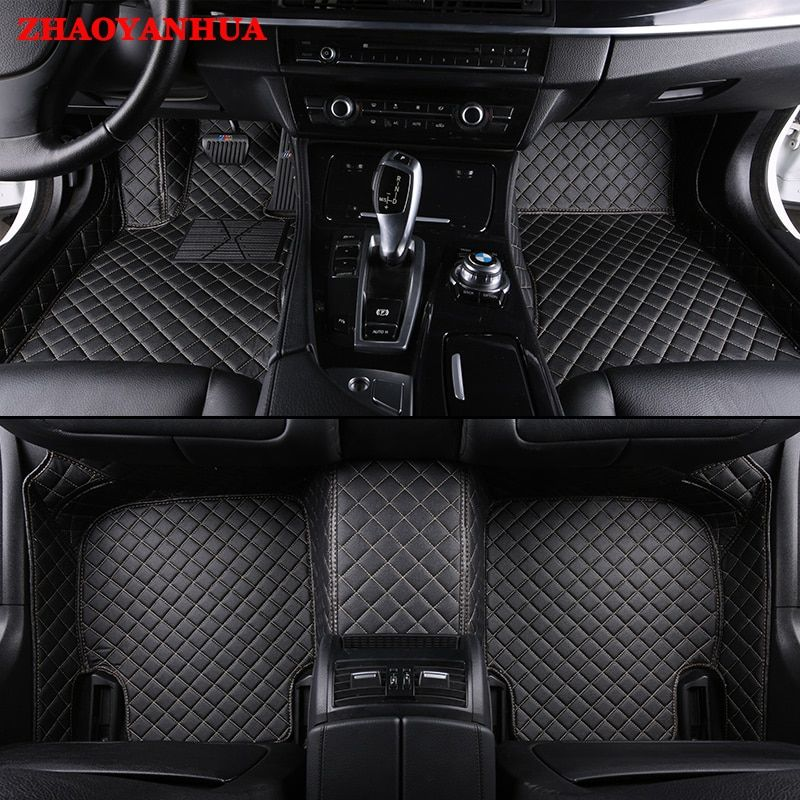 Zhaoyanhuacustom Fit Car Floor Mats For Land Rover Discovery Sport 3 4 Range Rover Evoque 5d Rugs Carpet Floor Custom Car Floor Mats Custom Cars Car Floor Mats