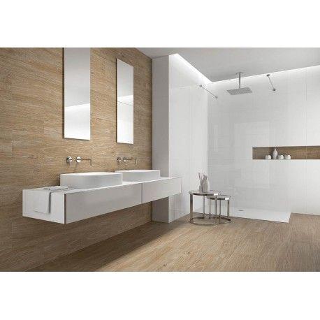 Carrelage imitation parquet beige 22 x 85 cm - 25,90\u20ac/m2 salle de