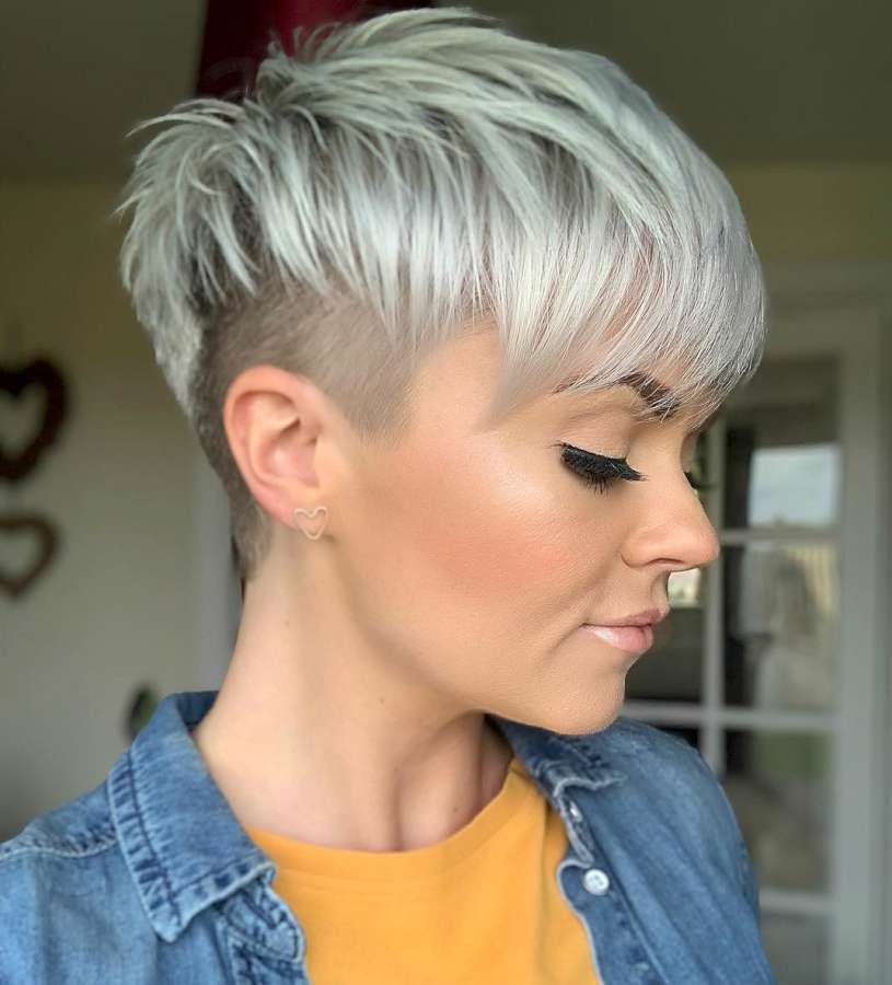 Jen Curnow Short Hairstyles Fashion And Women Taper Fade Haircut Short Hair Undercut Undercut Hairstyles