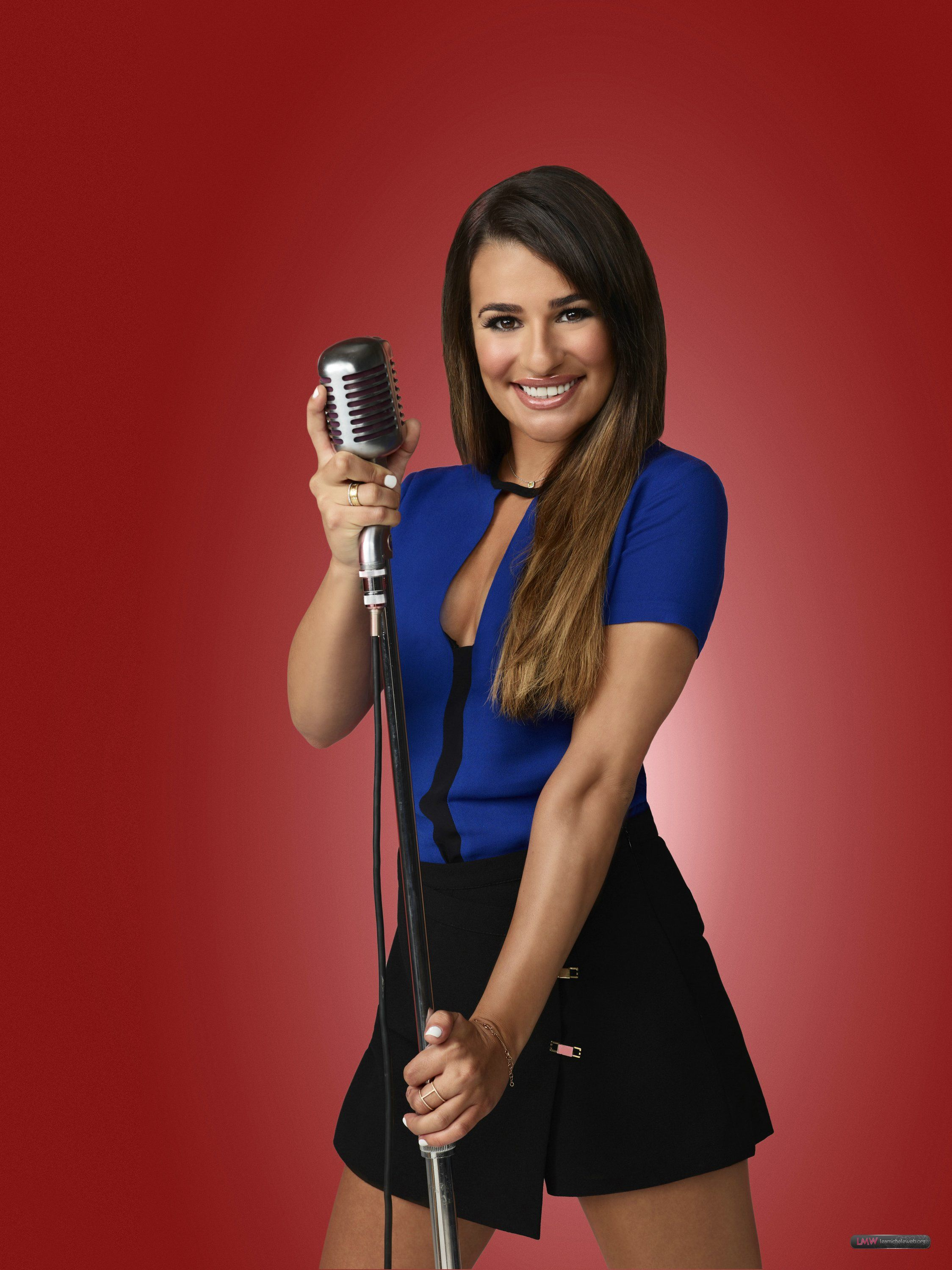 lea michele glee season 5 promo pics 2 celebrity
