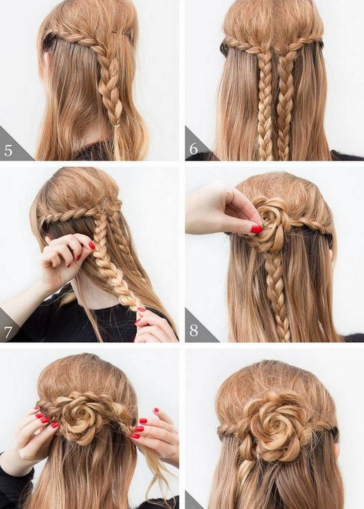Your Ultimate Guide to Make Five Different Braided Hairstyles #mediumupdohairstyles