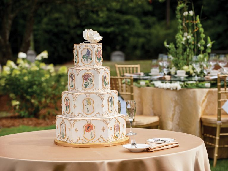 This Is The Average Cost Of A Wedding Cake Wedding Cake Cost Wedding Cake Prices Wedding Cake Fresh Flowers