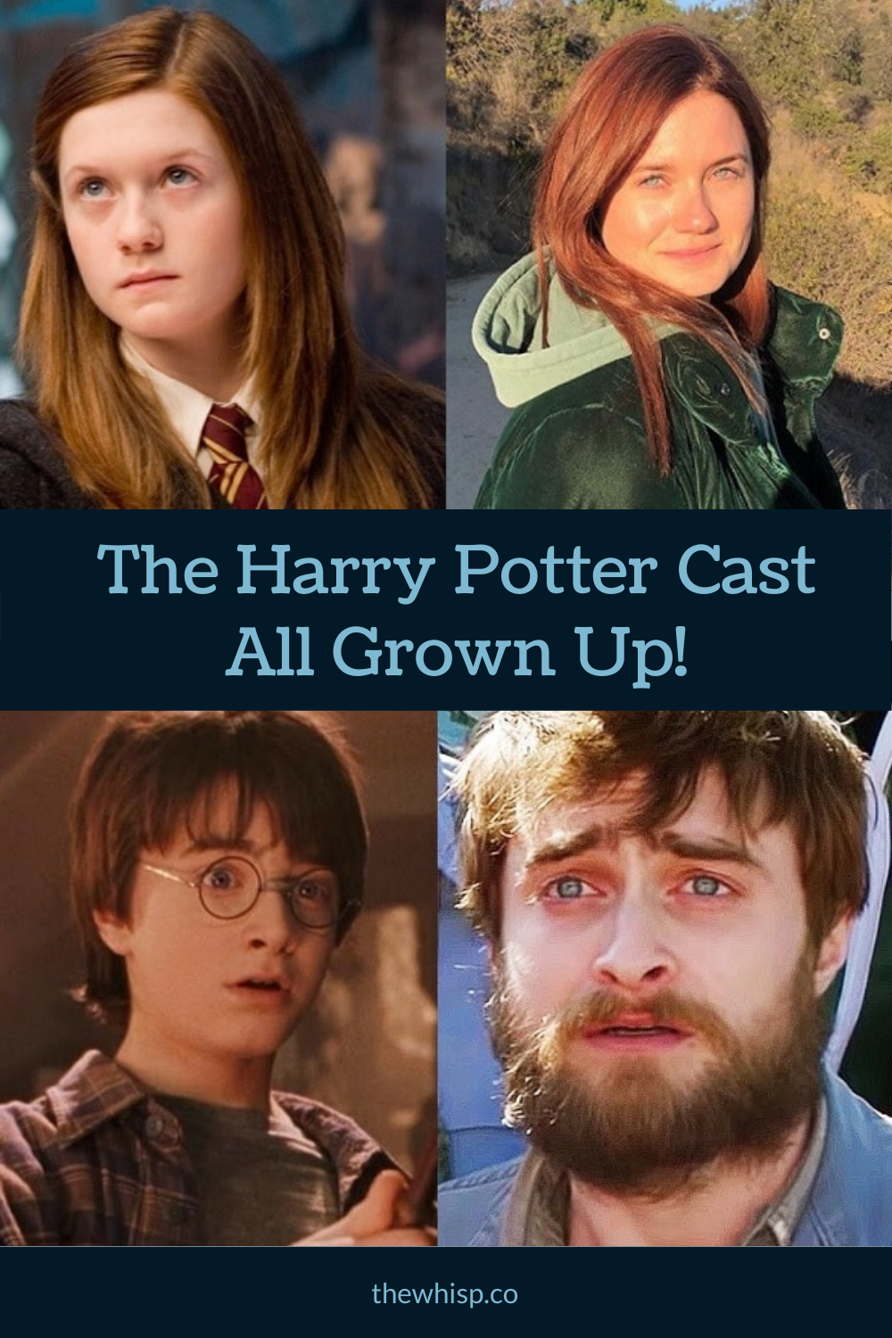 Harry Potter Cast Then And Now Photos And What They Re Doing Harry Potter Cast Harry It Cast