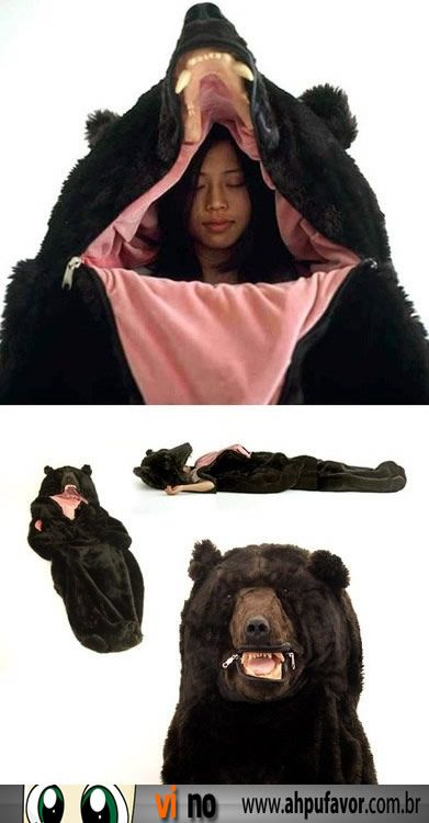 Como acampar e se proteger de Ursos, ay me rio