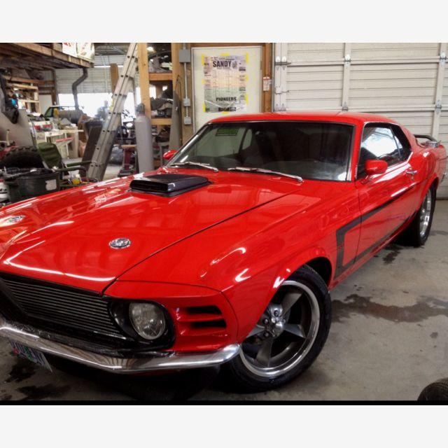1970 Mustang 351C 4V with FAST EFI EFI Conversion Kits- Swap