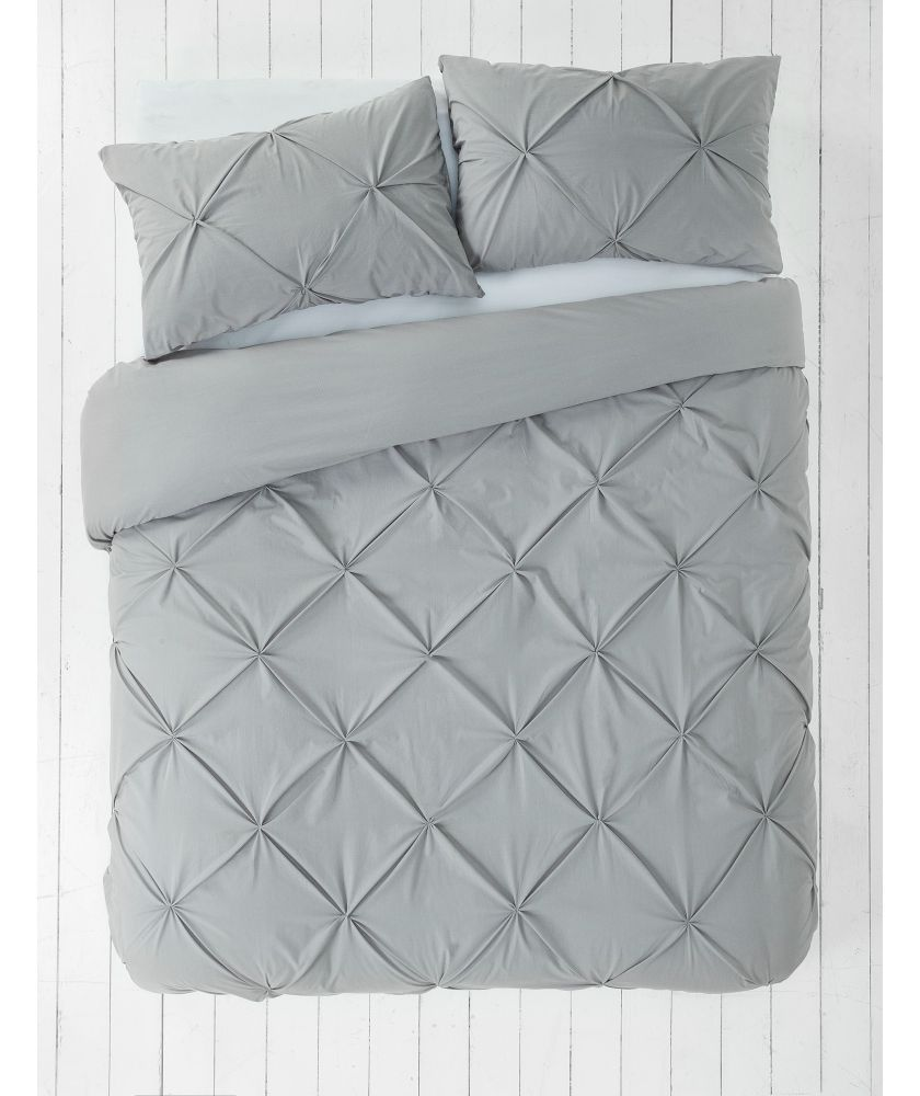 White apron argos - Buy Heart Of House Hadley Pintuck Bedding Set Super Kingsize At Argos Co