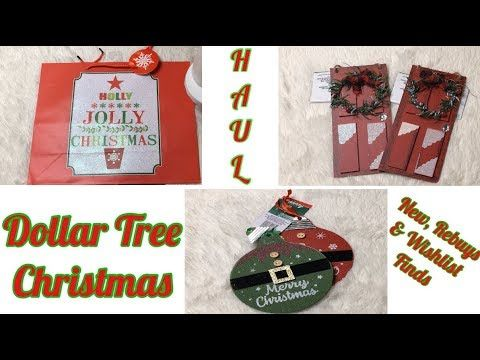 *NEW* CHRISTMAS @Dollar Tree HAUL! Great New & Wishlist Finds| CHRISTMAS 2019 - YouTube #dollartreecrafts