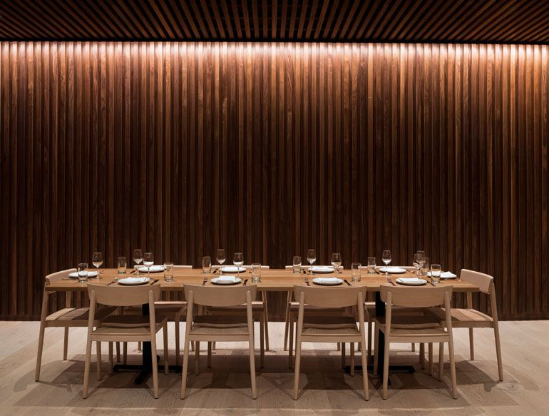 Heliotrope relies on understated sophistication for - Restaurant interior design seattle ...