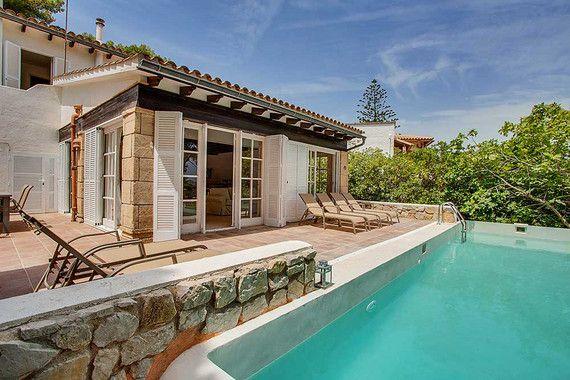 Gäste der Villa Cala Padri im Osten Mallorcas können sich