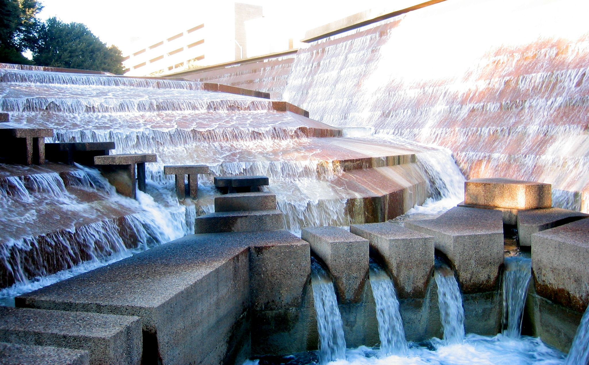 The Fort Worth Water Gardens Are One Of The Prime Examples Of This.  Description From. Texas UsaDallas ...