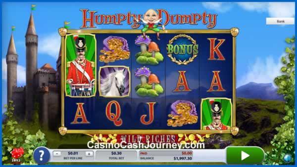 Humpty Dumpty Wild Riches Slot Machine