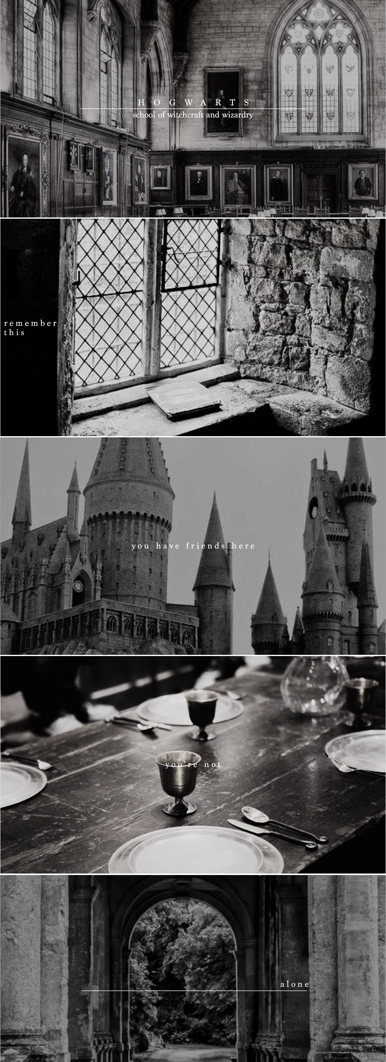 ill never forget the first time i walked through those doors. #hp
