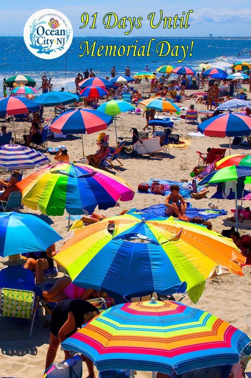 91 Days Until Memorial Day Ocnj2018memorialdaycountdown Ocnjvacation Oceancity Favorite Family Vacations Ocean City City Vacation