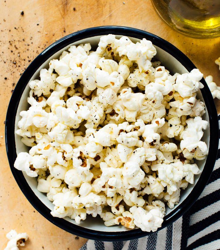 popcorn vs chips stovetop popcorn