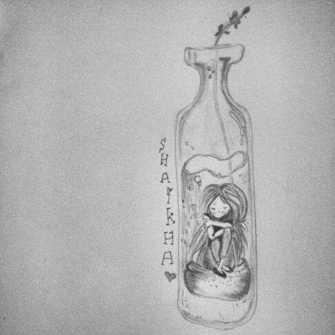 Loneliness Sad Girl Sketch Images Chelss Chapman