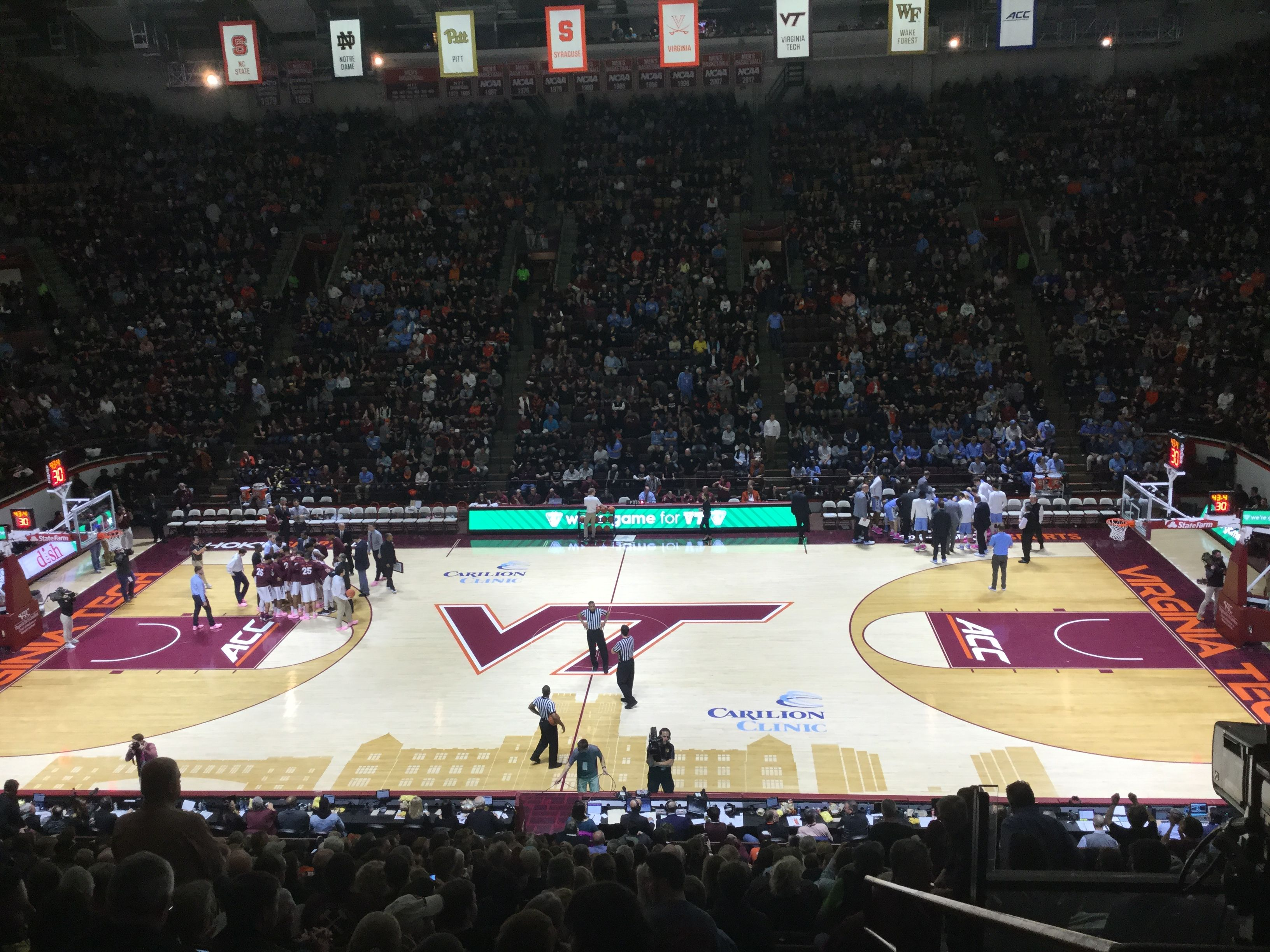 Virginia Tech beating UNC!! Virginia tech hokies, Hokies