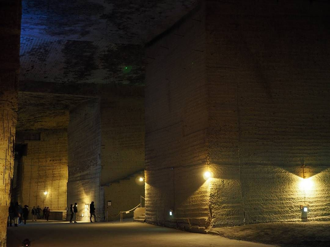 大谷の地下に潜ってきた #大谷石 #地下迷宮