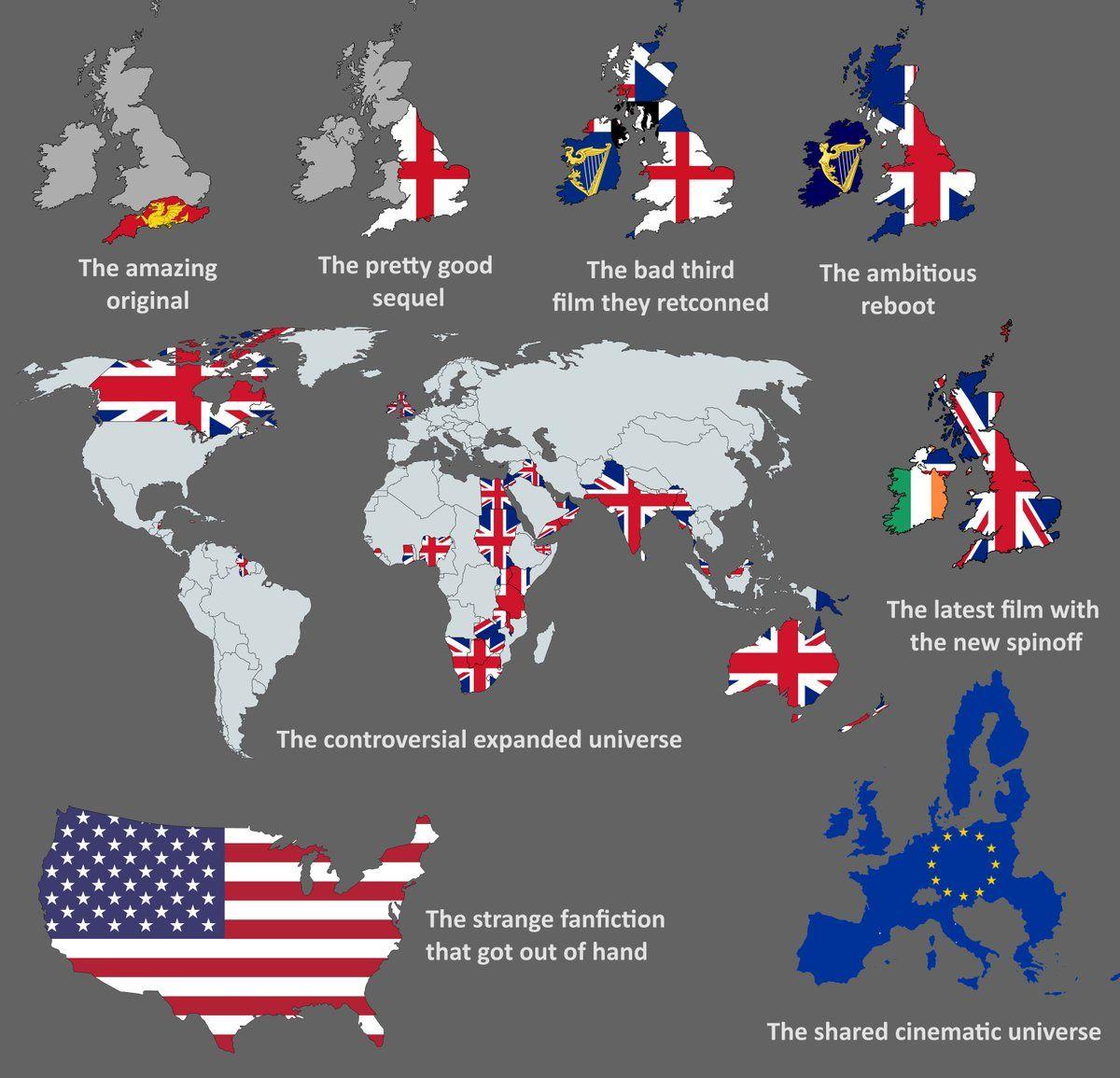 Onlmaps On Twitter History Humor British History Funny Maps