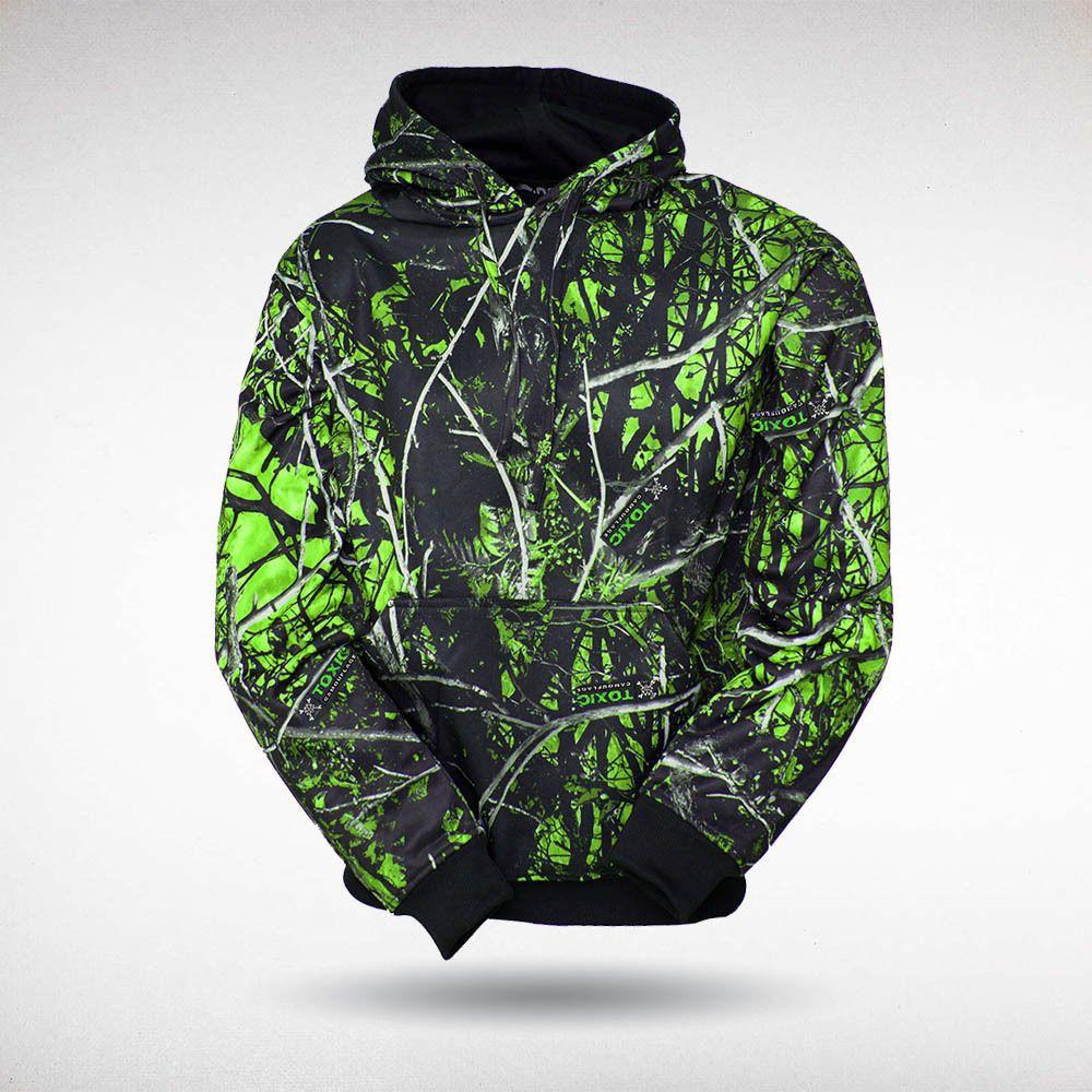 Boys Camouflage Nwt Skull Zip-Up Hoodie