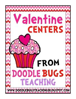Happy Valentine's Day! I have a great pack of Valentine centers and pocket chart activities for you..Check out my blog for a complete descr...