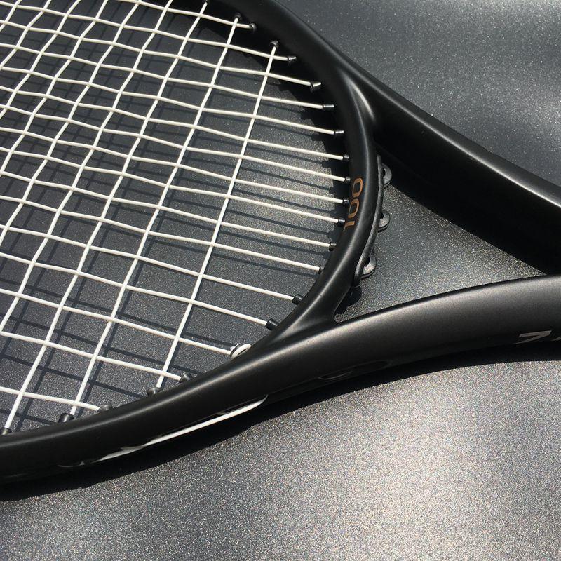 Zarsia Custom Taiwan Tennis Racket 100sq In 300g 16x19 Black Tennis Racquet 100 Carbon Foamed Handle With Bag Zarsia Custom T Tennis Racket Tennis Rackets