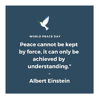Short World Peace Quotes World Peace Day International Day Of Peace World Peace