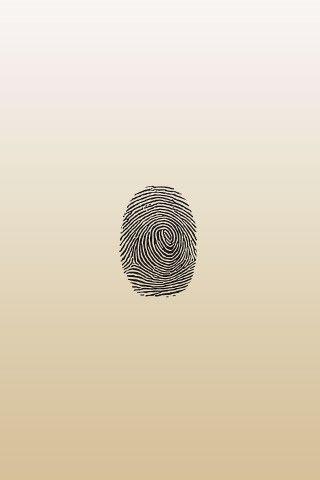 Gold Fingerprint Wallpaper | Abstract iphone wallpaper ...