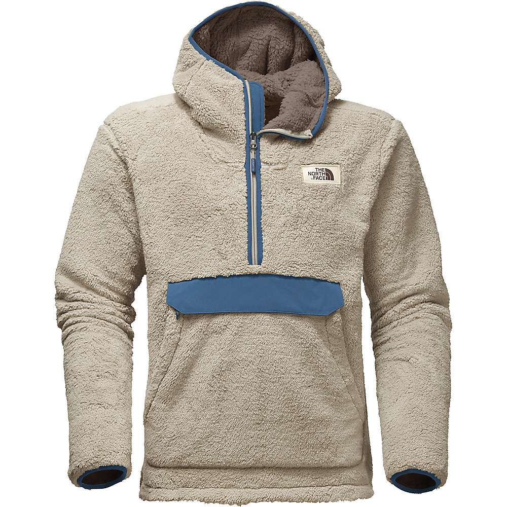 The North Face Men s Campshire Pullover Hoodie - Large - Granite Bluff Tan    Shady Blue d217f27c7