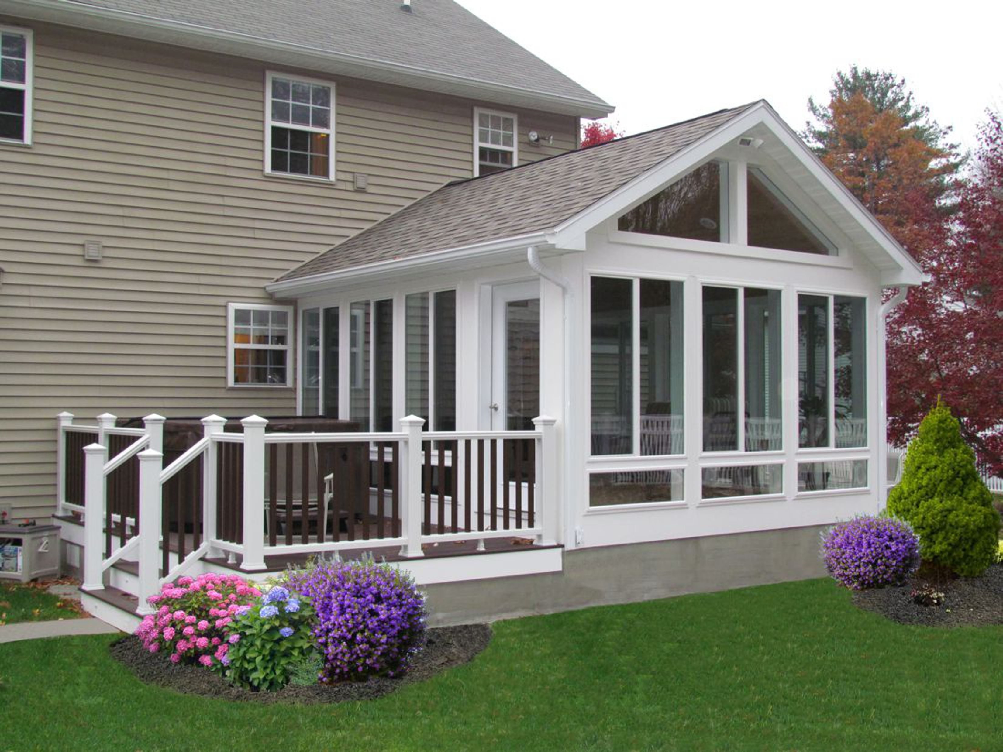 4 season porch on pinterest 4 season room 3 season for Porch sunroom