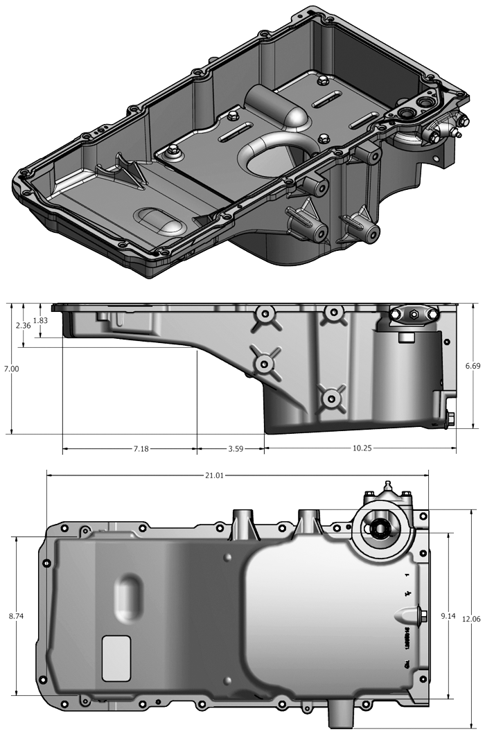 Ls Oil Pan Guide Pro Performance Ls Engine Crate Motors Chevrolet Ls